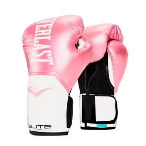 Everlast (kick)bokshandschoenen Pro Style Elite Roze/Wit