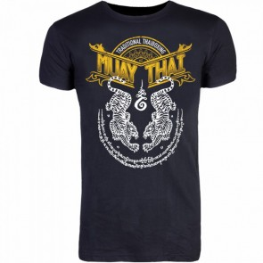 8Weapons T-shirt Muay Thai Zwart