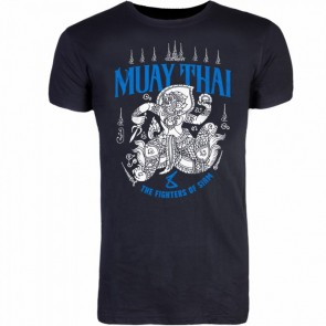 8Weapons T-shirt Muay Thai Blauw