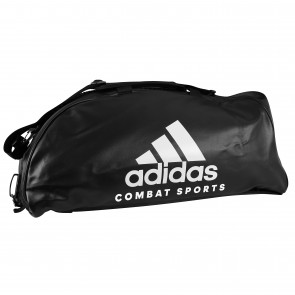 adidas Training Sporttas Combat 2 in 1 Zwart/Wit