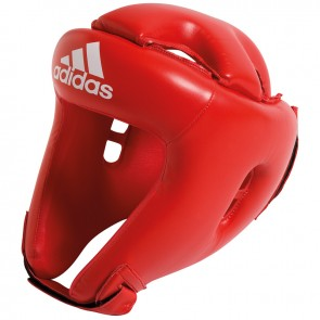 adidas Rookie hoofdbeschermer Rood Medium