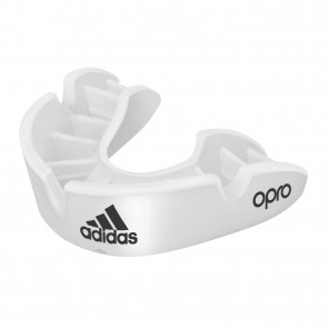 adidas gebitsbeschermer OPRO Gen4 Bronze-Edition Wit