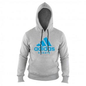 adidas Community Hoodie Grijs/Blauw Karate ADICHK-80600