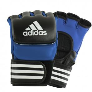 adidas Ultimate MMA Handschoenen Blauw/Zwart
