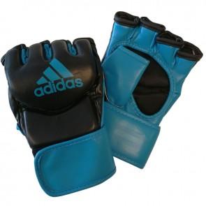 adidas Traditional Grappling Handschoenen Zwart/Blauw