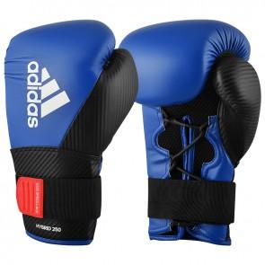 adidas (kick)Bokshandschoenen Hybrid 250 Training Blauw/Zwart