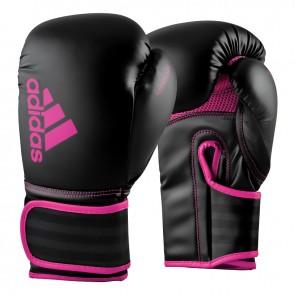 adidas (kick)Bokshandschoenen Hybrid 80 Zwart/Roze
