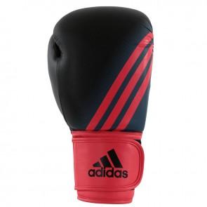 adidas Speed 100 (Kick)Bokshandschoenen Zwart/Shock Red Women's Edition 8 oz