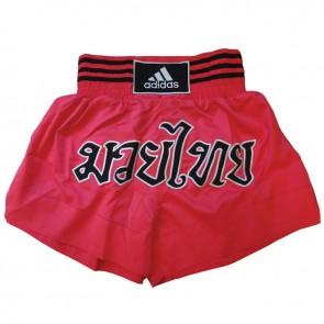adidas Kickboksshort STH02 Shock Red/Zwart Large (Kleding)