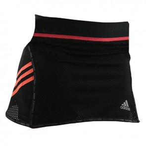 adidas Speed line Train skort Women Zwart / Shock Red