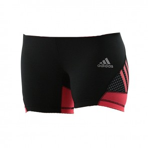 adidas Speed line Train short tight Women Shock Red / Zwart
