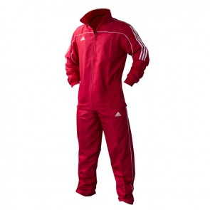 adidas Team Track Trainingsbroek Rood/wit