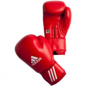 adidas AIBA bokshandschoenen 10 oz rood