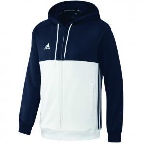 adidas T16 Team Hoodie Blauw/Wit