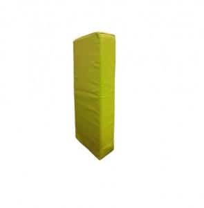 Armpad 45 x 20 x 15 cm Geel