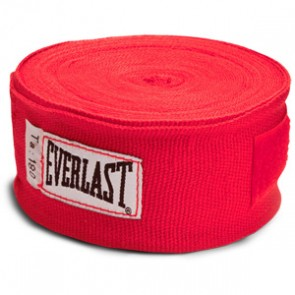Everlast bandages rood
