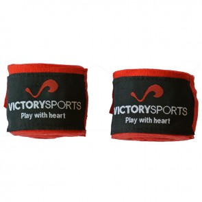 Victory Sports bandages 400 cm rood