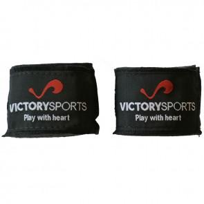 Victory Sports bandages 400 cm zwart