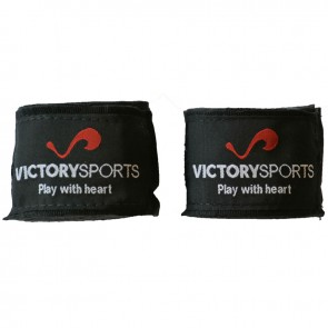 Victory Sports Junior Bandages 250 cm Zwart