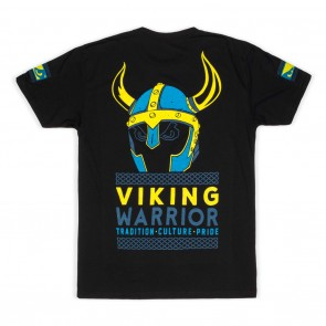 Bad Boy Viking Warrior T-shirt Zwart Small