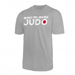 Bad Boy Judo Discipline T-shirt Grijs Small