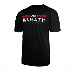 Bad Boy Karate Discipline T-shirt Zwart