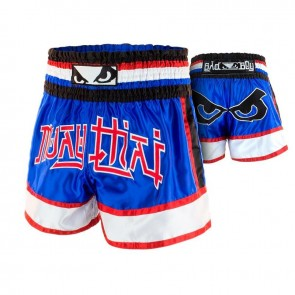 BadBoy Muay Thai Short Kao Loy Blauw Medium