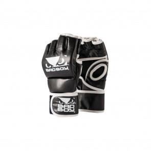 BadBoy MMA Handschoenen Zonder Duim Zwart/Wit