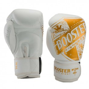 Booster (kick)bokshandschoenen Pro-Shield 1 Wit/Goud