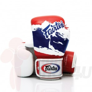 Fairtex (kick)bokshandschoenen Thai Pride Limited Edition 16oz