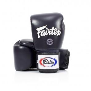 Fairtex (kick)bokshandschoenen Tight Fit Blauw (Handschoenen)