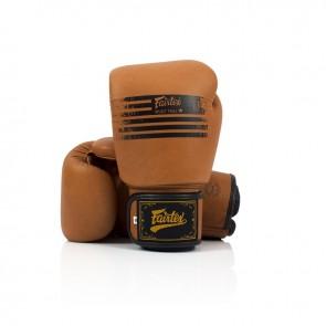 Fairtex (kick)bokshandschoenen Brown Legacy (Handschoenen)