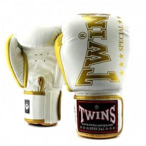 Twins (kick)bokshandschoenen BGVL8 Wit/Goud