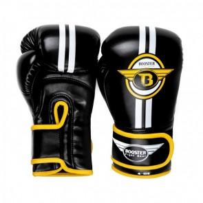 Booster Youth Elite 3 (kick)bokshandschoenen Junior Zwart/Geel/Wit