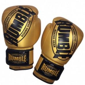 Rumble (kick)bokshandschoen Winner Leder Goud