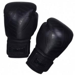 Rumble (kick)bokshandschoen Winner Leder Zwart