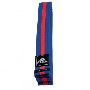 adidas Taekwondo Poomsae Band Blauw/Rood