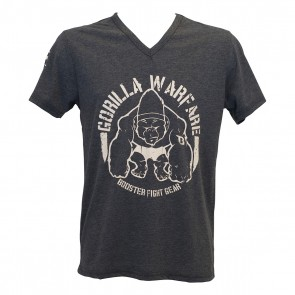 Booster Fightgear T-Shirt Gorilla Warfare Zwart/Grijs