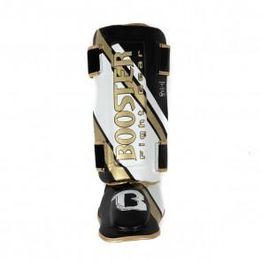 Booster Scheenbeschermer Thai-Striker V2 Zwart/Goud/Wit