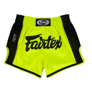 Fairtex Kicksbroek Satoru Neon Groen