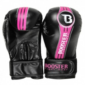 Booster Junior (kick)bokshandschoenen BT Future Zwart/Roze