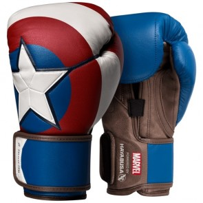Hayabusa Captain America (kick)bokshandschoenen Limited Edition 16oz