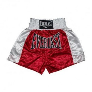 Everlast thai Boxing trunk Rood/Wit