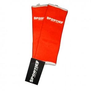 Sportief enkelkous rood extra large