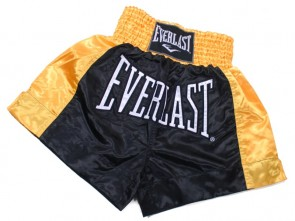 Everlast thai Boxing Short Goud/Zwart