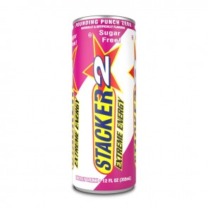 Stacker Extreme Energy Drink Pounding Punch