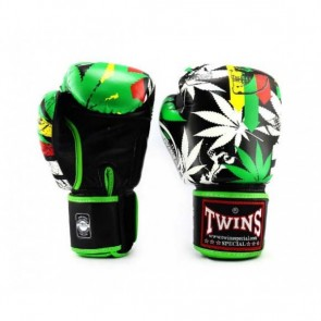 Twins (kick)bokshandschoenen Fantasy 3 Grass 14oz