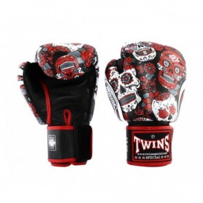 Twins (kick)bokshandschoenen Fantasy 4 Red Skull 16oz