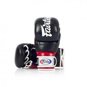 Fairtex MMA-Sparringshandschoenen Zwart/Rood (Handschoenen)