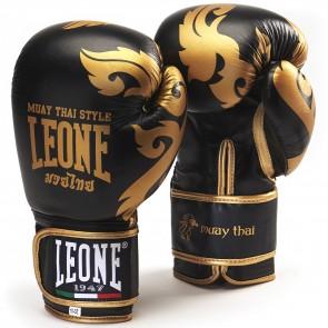 Leone Muay Thai Handschoenen Zwart/Goud